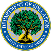 Seal of the United States' Department of Education.